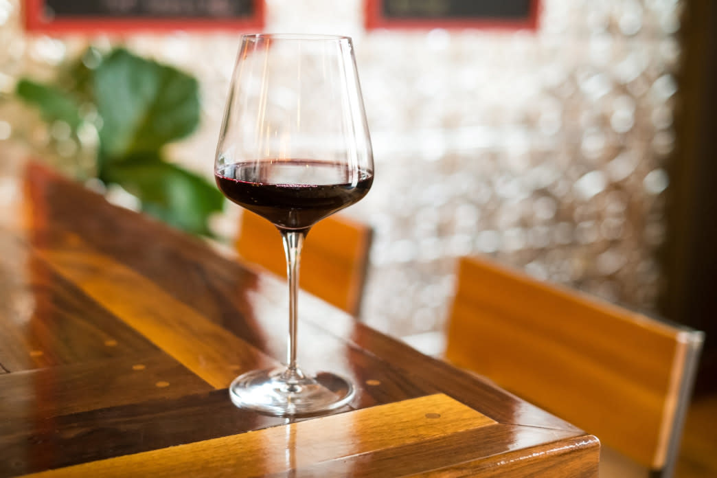 The Old City Wine Bar offers a huge variety of wine along with a menu of small plate items.