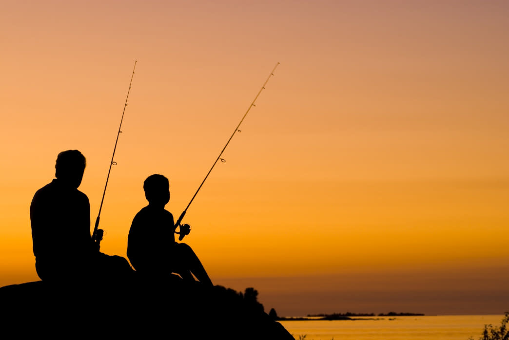 The 40,000 acre Elephant Butte Lake is popular for fishing and water sports.