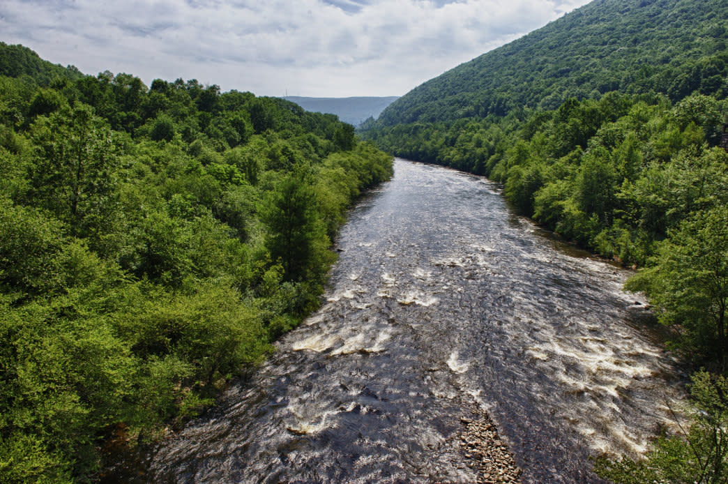 Explore the Rapids on the Lehigh River