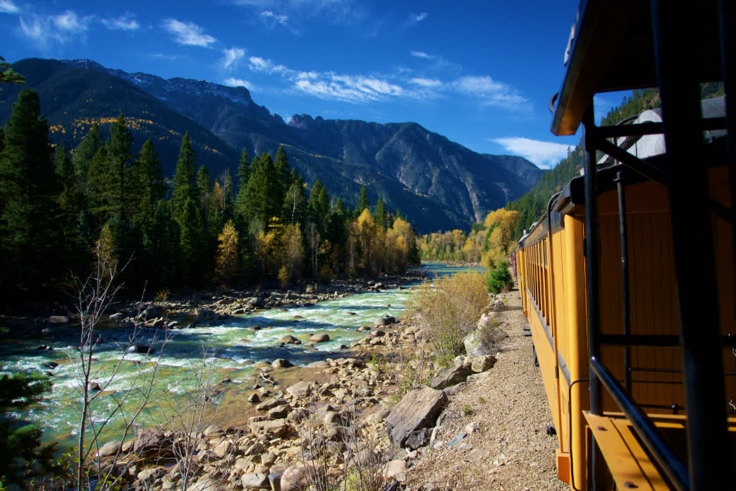 The Durango & Silverton Narrow Gauge Railroad is a great way to explore the region.