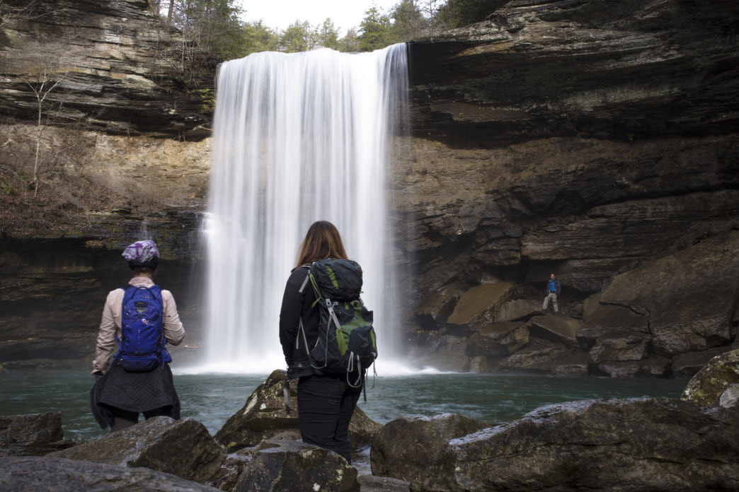 Greeter Falls, Savage Gulf State Park, Tennessee