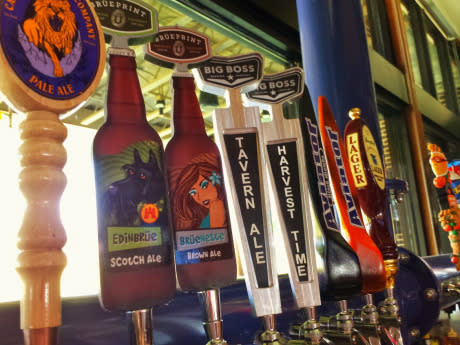 Craft Beers on tap in Greater Raleigh, T.MAC. sports bars in Greater Raleigh