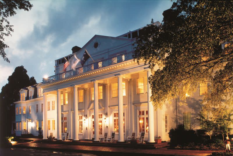 The 120-year-old Willcox Hotel in Aiken, South Carolina, recently completed upgrades to its historic landmark property.  Courtesy of The Willcox