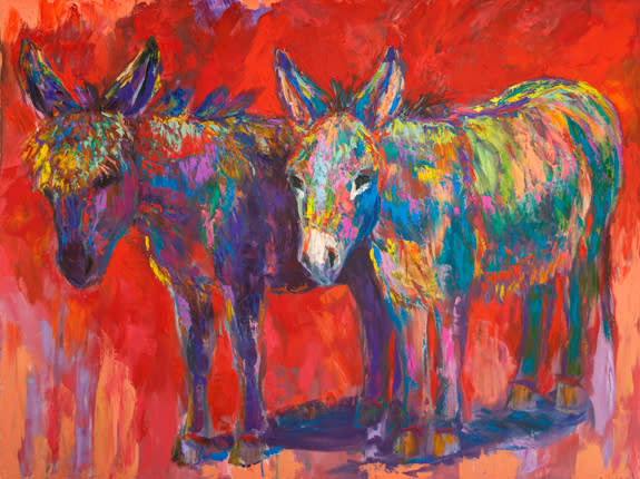 Through Thick or Thin: Marley and Bindy by Barbara Meikle Santa Fe