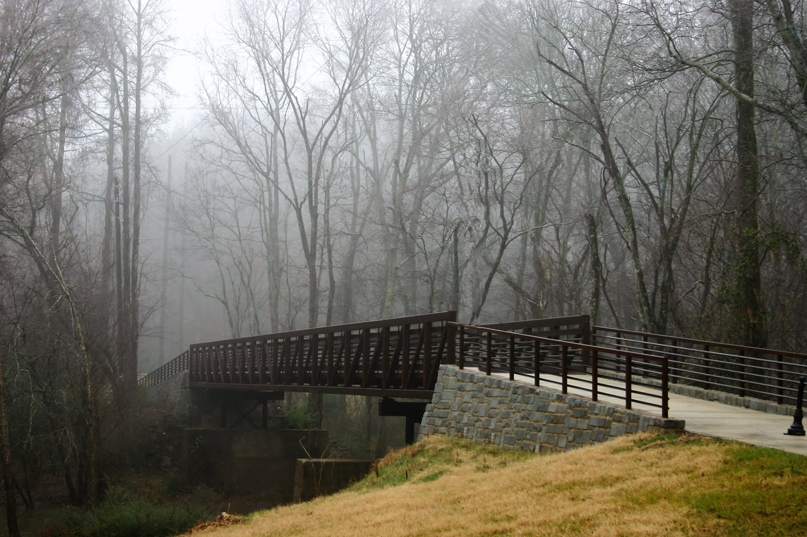 North Oconee River Greenway in Athens, Georgia