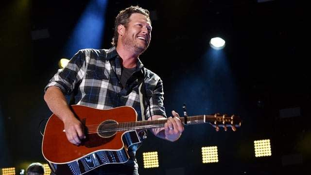 """1976: Country music singer-songwriter Blake Shelton, whose No. 1 country hits include """"Austin,"""" """"The Baby,"""" """"Some Beach,"""" """"Hillbilly Bone,"""" """"Honey Bee"""" and """"Sure Be Cool If You Did,"""" is born in Ada, Oklahoma. He is also known as one of the judges on the singing competition show """"The Voice."""""""