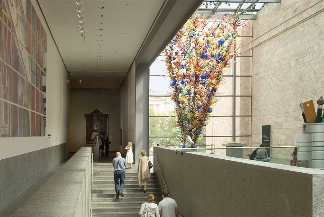 Chihuly: Inside and Out by Dale Chihuly at Joslyn Art Museum Omaha NE