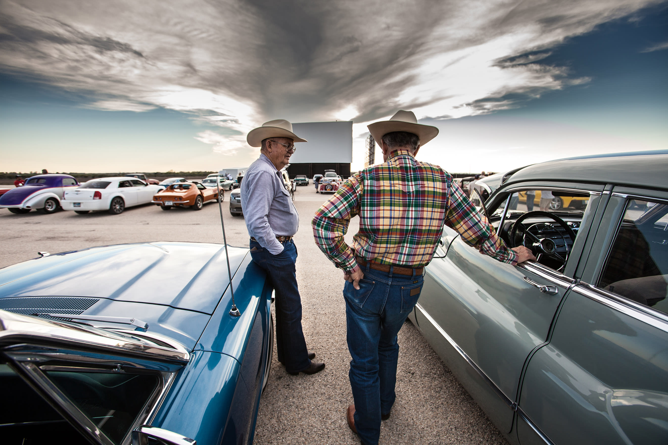 Stars & Stripes Drive-In offers a slice of Americana with all the digital cinema luxuries. They are one of only a few drive-in theaters in Texas, boasting the largest screens measuring 90' wide.
