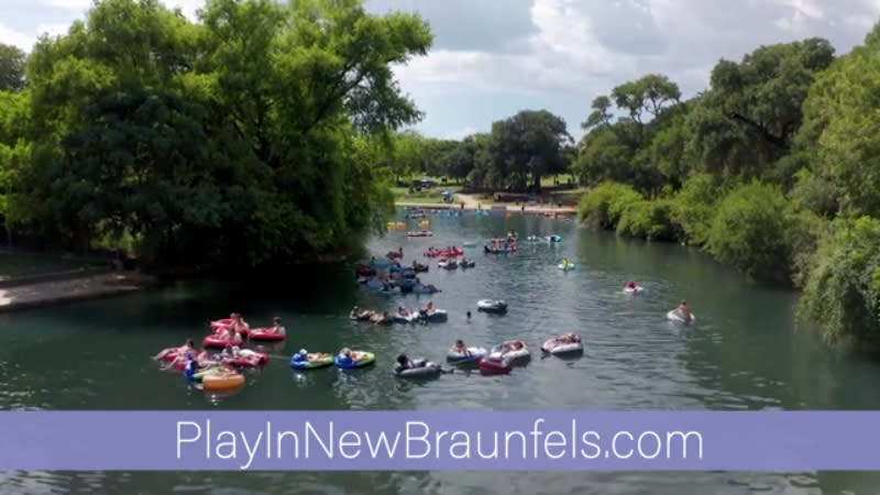 From crystal clear rivers, spring Texas' treasures. Come play in New Braunfels.