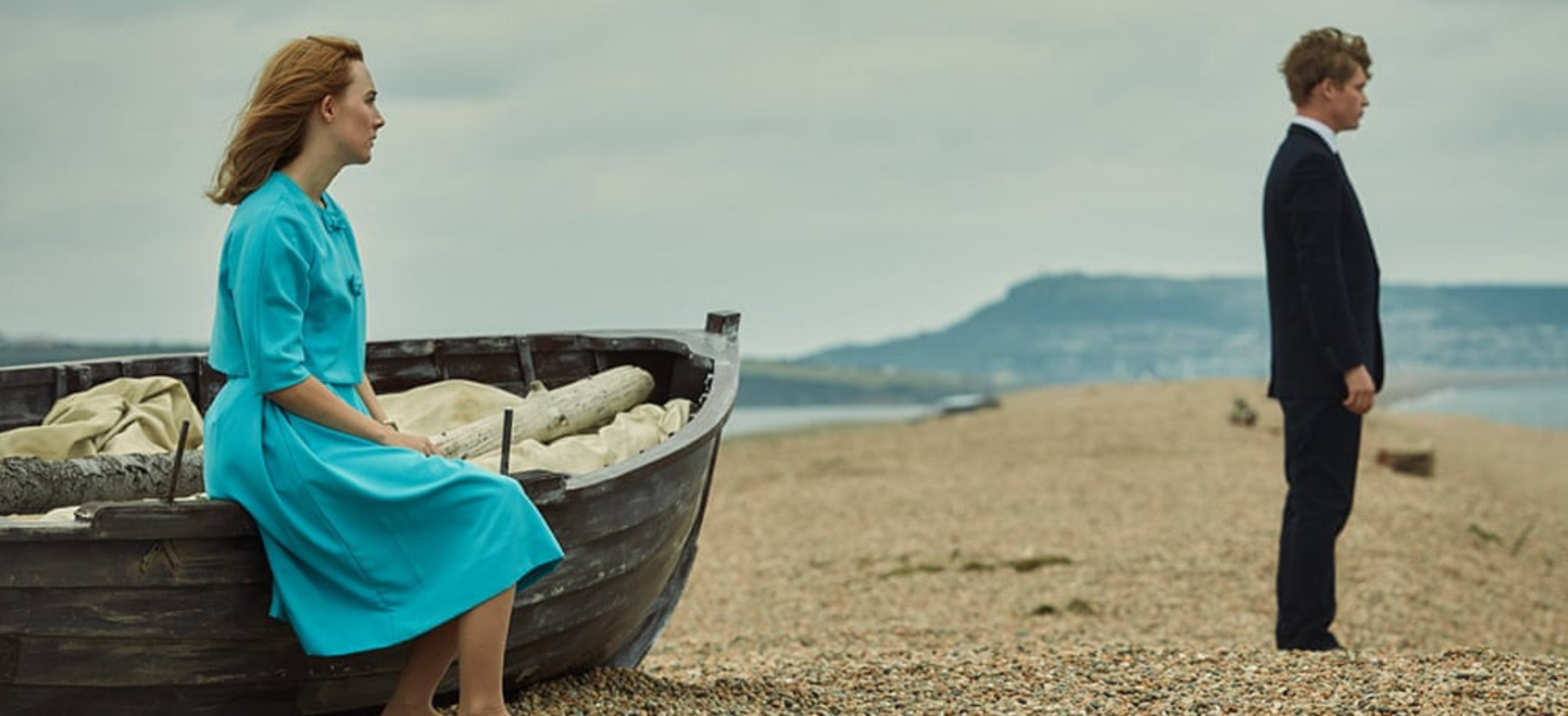 Promotional shot from 'On Chesil Beach'