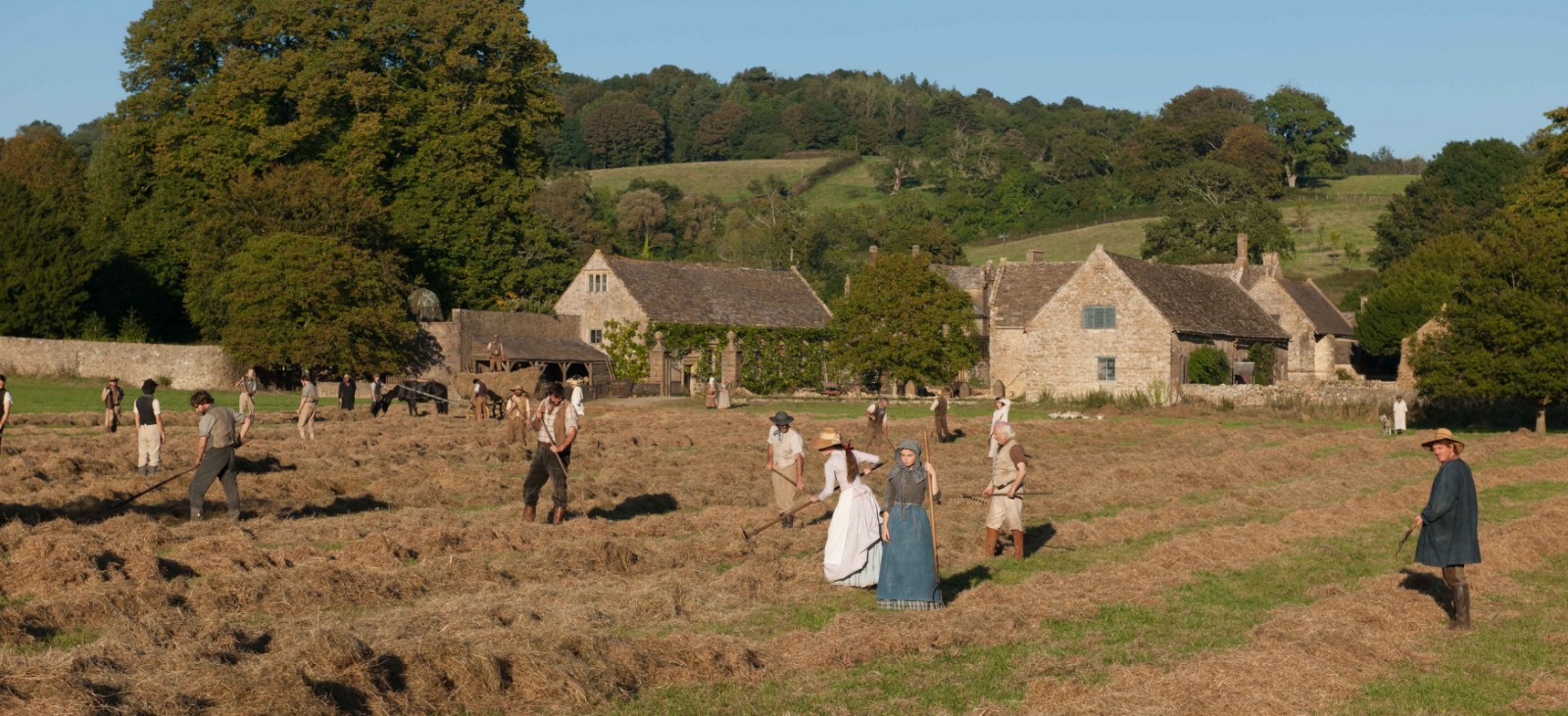 Filming Far From the Madding Crowd, Mapperton Estate