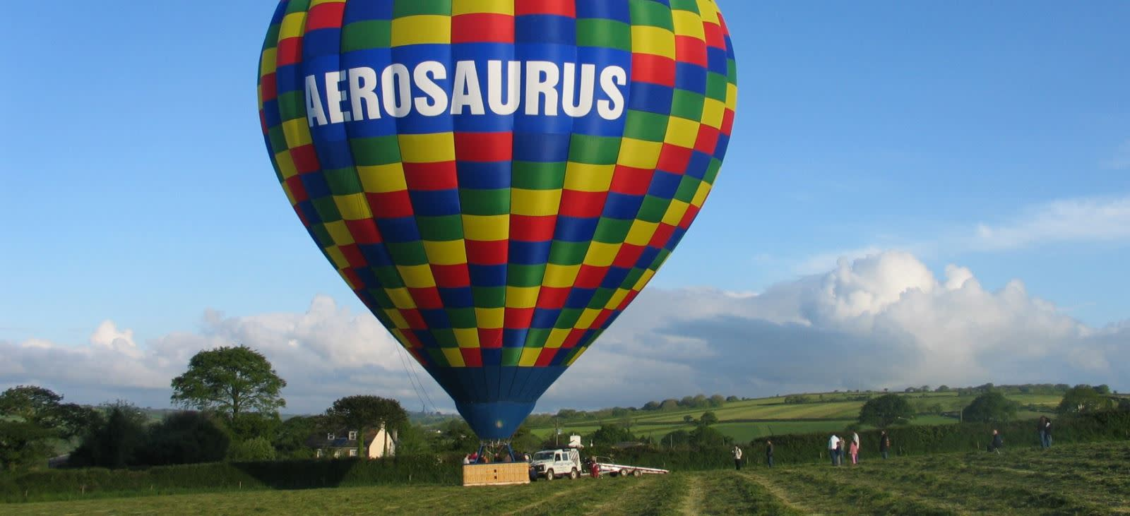 View Dorset stunning landscapes from above in a hot air balloon