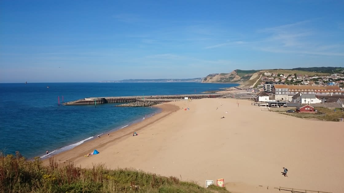 West Bay provides the dramatic backdrop to Broadchurch