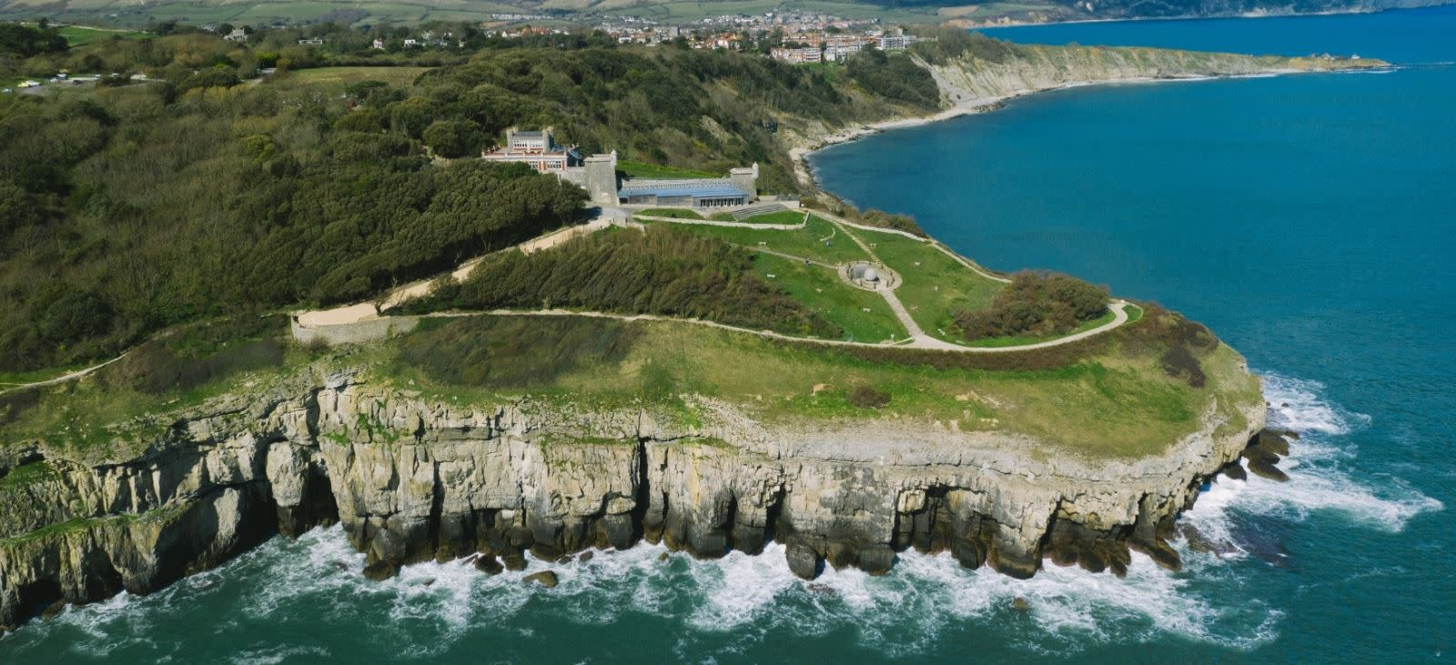Durlston Country Park and National Nature Reserve in Swanage, Dorset. Photo credit to Harbour Media.