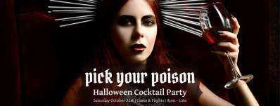Pick Your Poison Halloween Cocktail Party