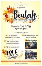 Beulah Craft and Sausage Festival 2019