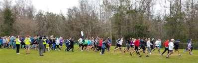 Pensacola's Rec Plex North parkrun/walk
