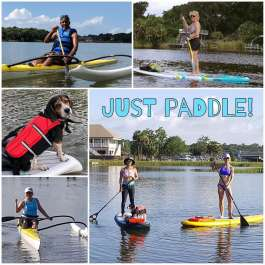 SUP FUN! GUIDED Adventures with LESSONS, Sunrise Tours, Fitness & more!