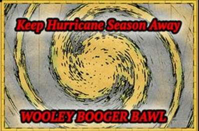 Wooley Booger Keep The Hurricanes Away This Season Baw