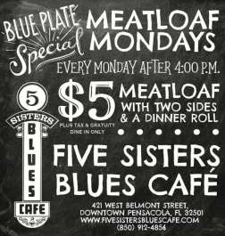 Five Sisters Meatloaf Monday