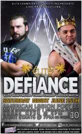 "Elite Championship Wrestling presents ""Defiance"""
