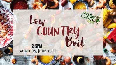 Low Country Boil at O'Riley's Downtown
