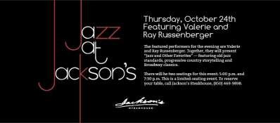 Jazz at Jackson's: Jazz and Other Favorites