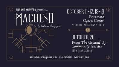 Arrant Knavery Presents: MACBETH