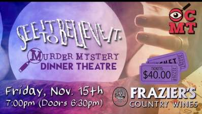 See it to believe it Mystery Theatre