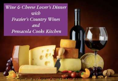 Wine and Cheese lovers dinner