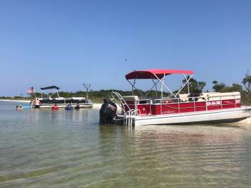 Blue Angels Homecoming Air Show Private Charter Pontoon Boat Rental
