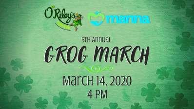 O'Riley's Irish Pub 5th Annual Grog March