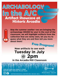 Tuesdays - Archaeology in the A/C