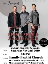Brian Free and Assurance In Concert