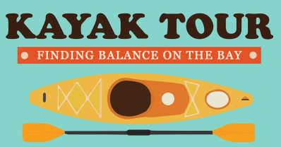 Finding Balance on the Bay Kayak Tour