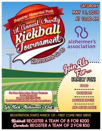 1st Annual Charity Kickball Tournament