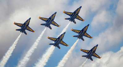 The Ultimate Blue Angels Practice Cruise!