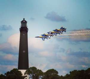 Blue Angels Practice Cruises
