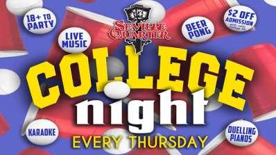College Night ~ Thursdays