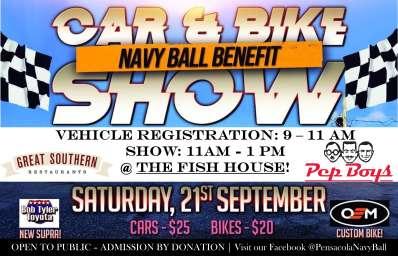 Navy Ball Benefit Car and Bike Show