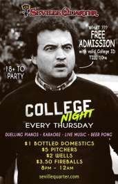 College Night - Thursdays