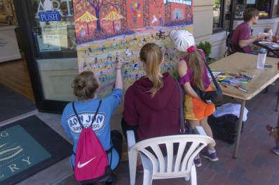 The Dancing Doodle - Public Art Project