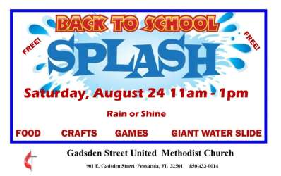 Back to School Splash