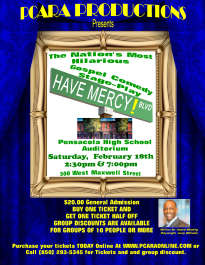 """Theatrical Stage Play """"Have Mercy Boulevard!"""""""