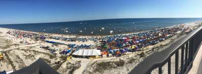 Interstate Mullet Toss and Gulf Coast's Greatest Beach Party