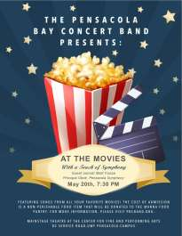 "Pensacola Bay Concert Band ""At the Movies"" Concert"