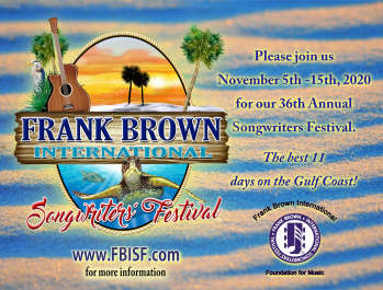 The 36th Annual Frank Brown International Songwriters' Festival
