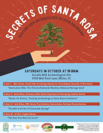 Saturdays: Secrets of Santa Rosa: History and Archaeology in Your Backyard