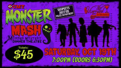 Murder Mystery Dinner Theatre: Monster Mash (The Vineyard)