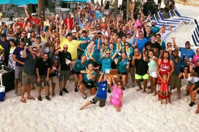 Florida Beach Bar Award Party